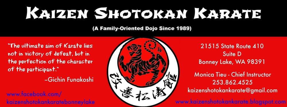 Kaizen Shotokan Karate: 21515 State Rt 410 E, Bonney Lake, WA