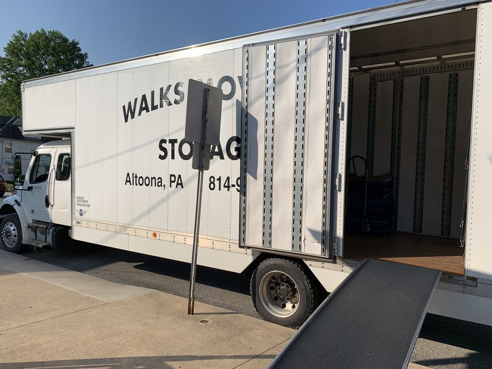 Walk's Moving & Storage: 306 N 8th St, Altoona, PA