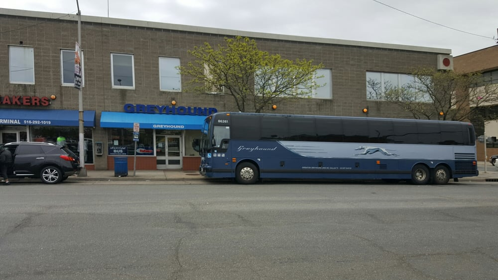 Greyhound Bus Lines - Bus Stations - 168 Jackson St