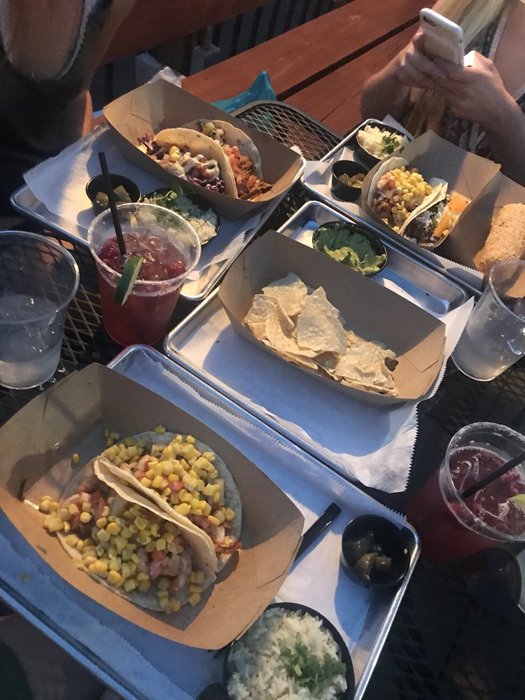Food from Magnolia's Taco And Tequila Bar