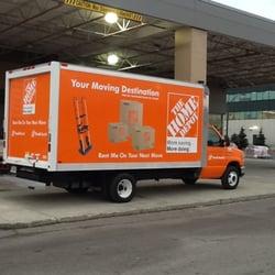 Home depot truck rental canada