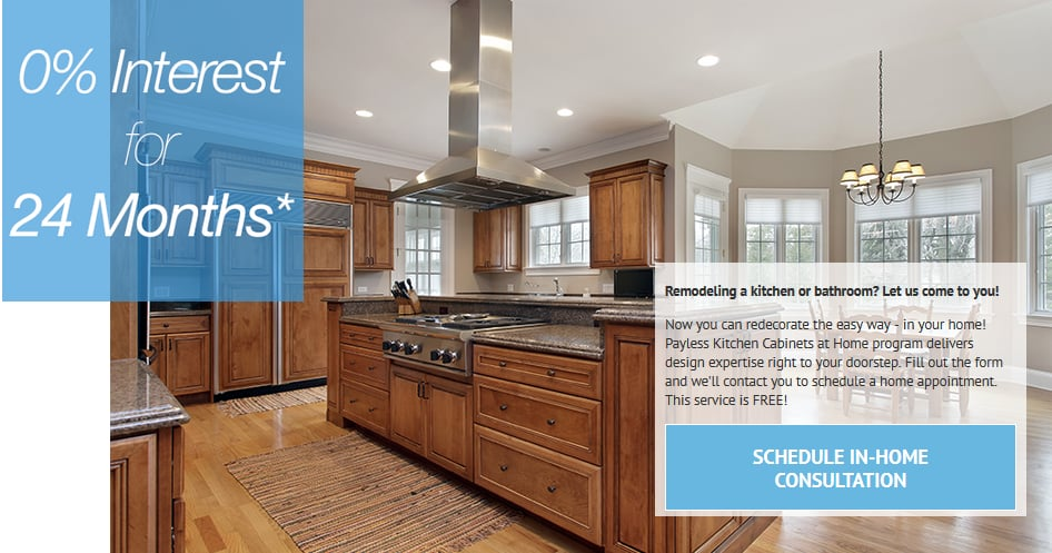 0 interest for 24 months - Payless kitchen cabinets ...
