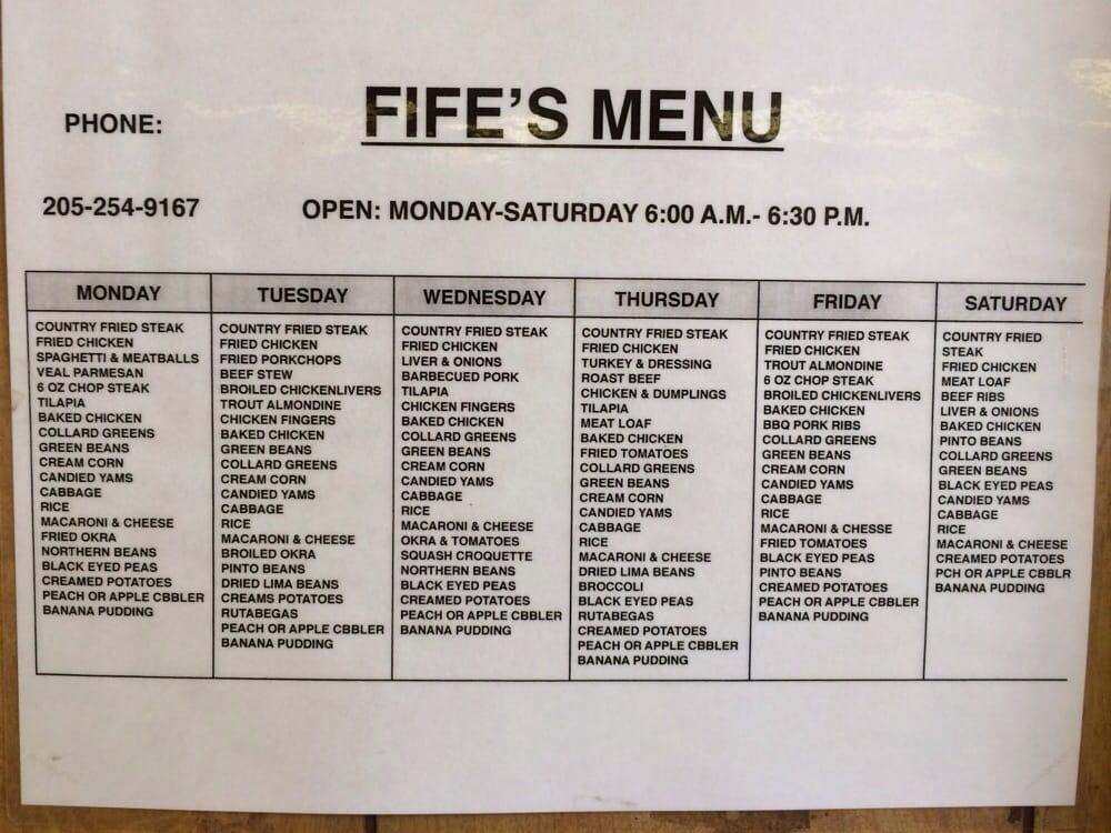 Fife S Restaurant Birmingham