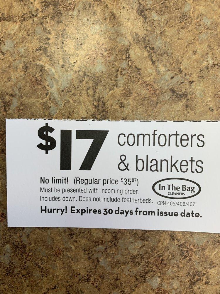 In the Bag Cleaners: 2250 N Ridge Rd, Wichita, KS