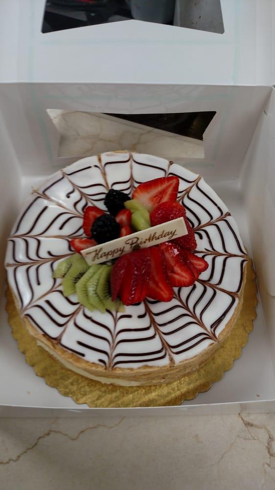 Chef David Created A Napoleon Birthday Cake Can You Just Imagine