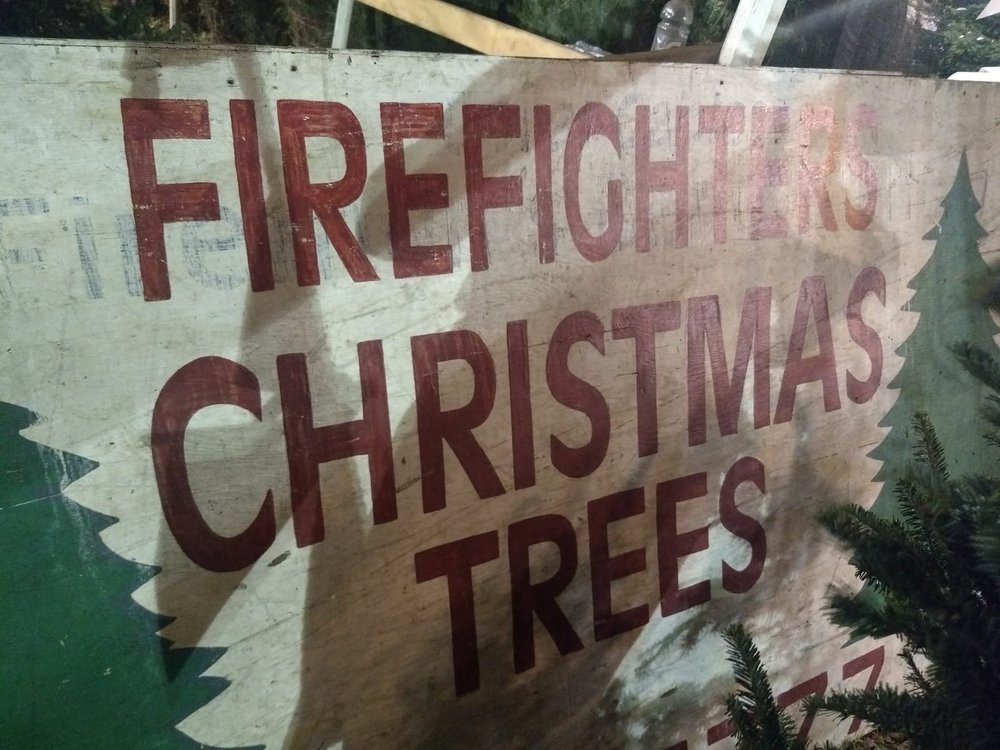 Firefighters Christmas Trees: 5501 Granada Blvd, Coral Gables, FL