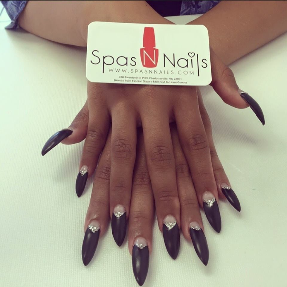 Extra long stiletto nails - Yelp