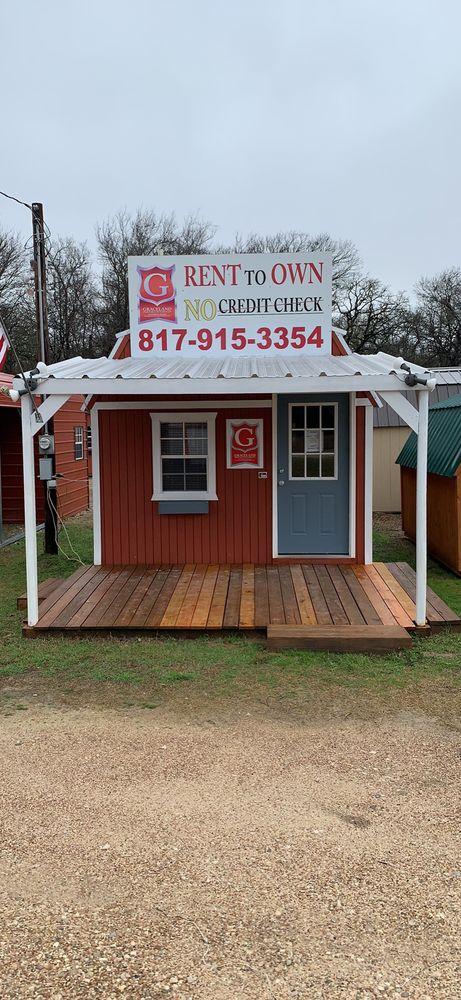 Graceland Portable Buildings: 2200 E Hiwy 67, Cleburne, TX