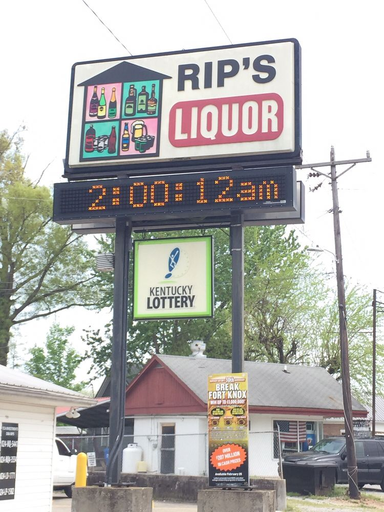 Rips Bar and Liquor: 10800 Tobacco Rd, Gracey, KY