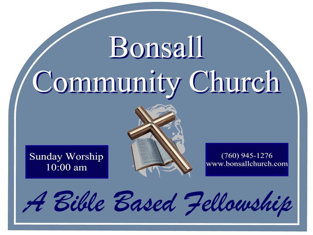 Bonsall Community Church: 31542 Old River Rd, Bonsall, CA