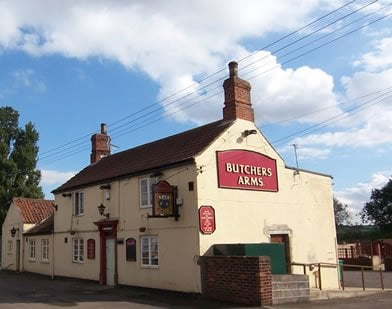 Butchers Arms: White House Lane, Scunthorpe, NLN