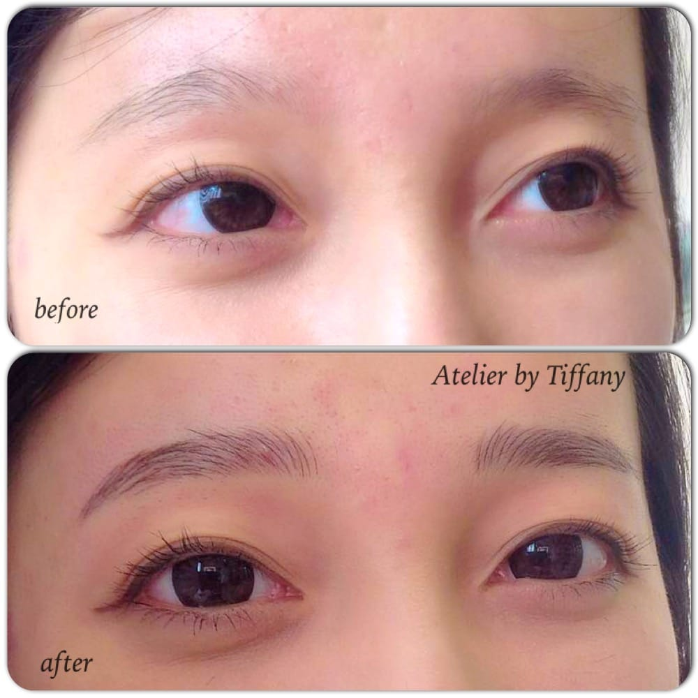 3d natural eyebrow tattoo by atelier by tiffany yelp for 3d eyebrow tattoo near me