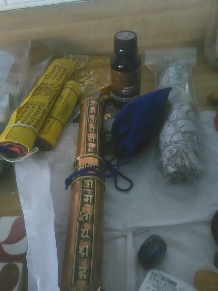 Just made a purchase   I love my spiritual oils and sage and