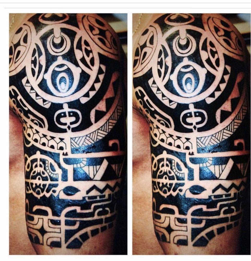 Maori Polynesian Tattoos by The Red Parlour Tattoo & Piercing ...