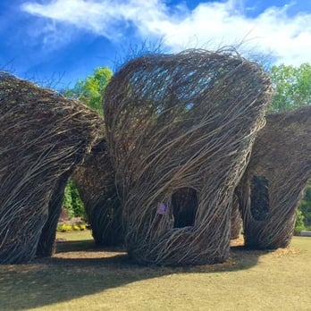 Photo Of Atlanta Botanical Garden   Gainesville, GA, United States. Woven  Whimsy Structures