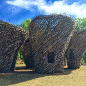 photo of atlanta botanical garden gainesville ga united states woven whimsy structures - Gainesville Botanical Garden