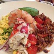 Seafood Cobb Salad - Picture of pappadeaux, Dallas - TripAdvisor