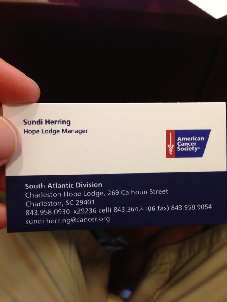 American Cancer Society - Community Service/Non-Profit - 269 Calhoun ...