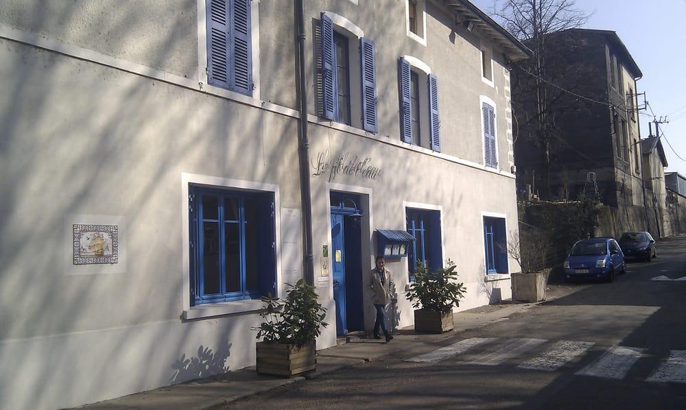 Restaurant le Fil de L'Eau - St Rambert d'Albon