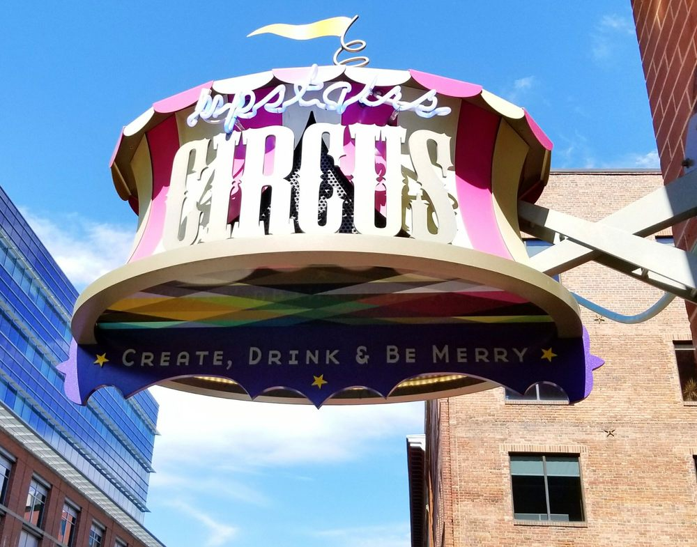 Upstairs Circus Lower Downtown - LoDo: 1500 Wynkoop St, Denver, CO