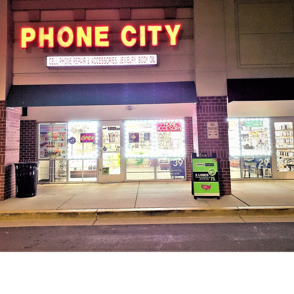 Phone City - iPad and iPhone Screen Replacement Galaxy Repair: 5805 Silver Hill Rd, District Heights, MD