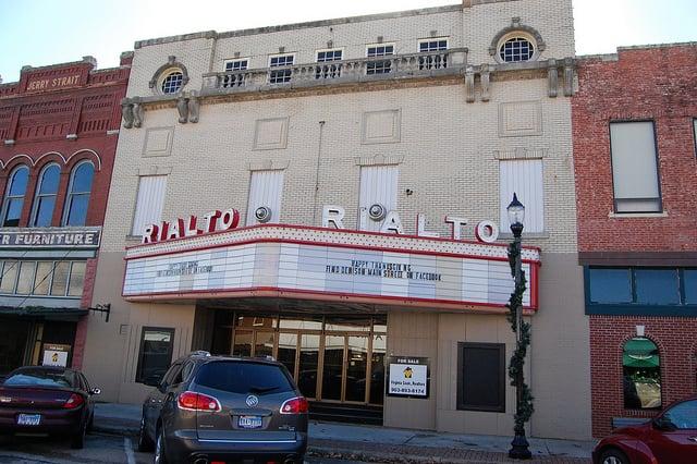 The Rialto Theater: 424 W Main St, Denison, TX