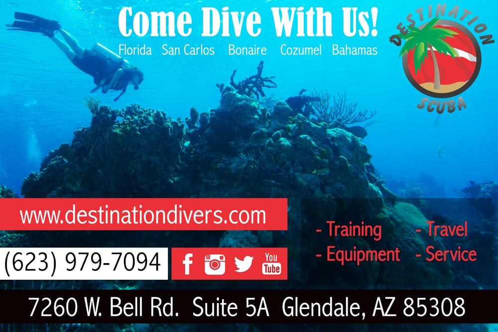 Destination Scuba - CLOSED - 16 Reviews - Scuba Diving - 4139 W Bell ...