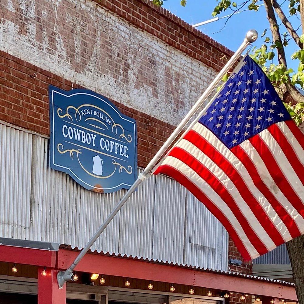 Kent Rollins Cowboy Coffee Shop: 905 9th St, Wellington, TX