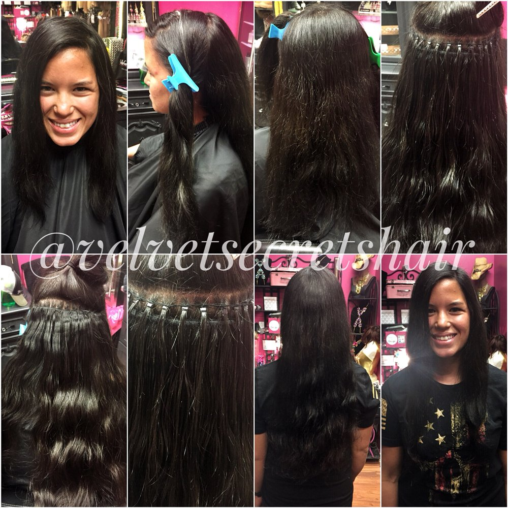 Beaded Sew In With 100 Virgin Remy Human Hair Extensions Yelp