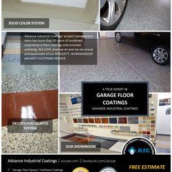 Photo of Advance Industrial Coatings - Jacksonville, FL, United States. Garage  Floor Coatings