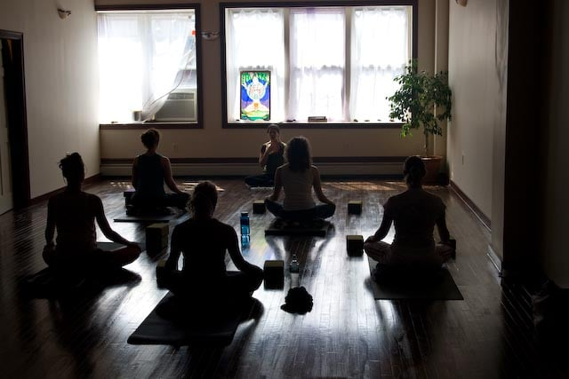 Photo of The Giving Tree Yoga Studio - Astoria, NY, United States. Morning sunshine!