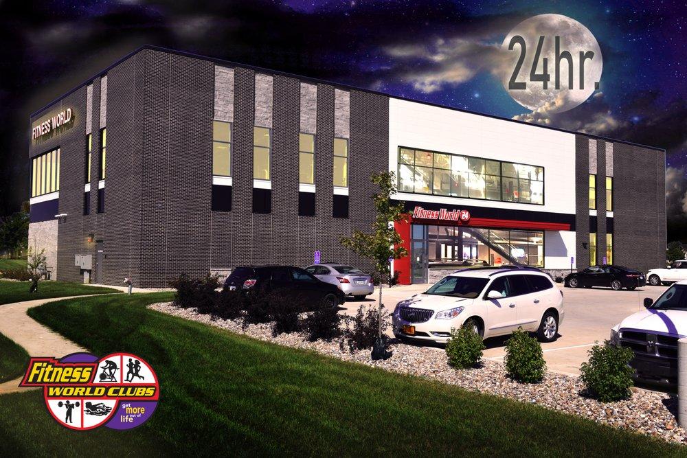 Fitness World 24: 2305 N Ankeny Blvd, Ankeny, IA