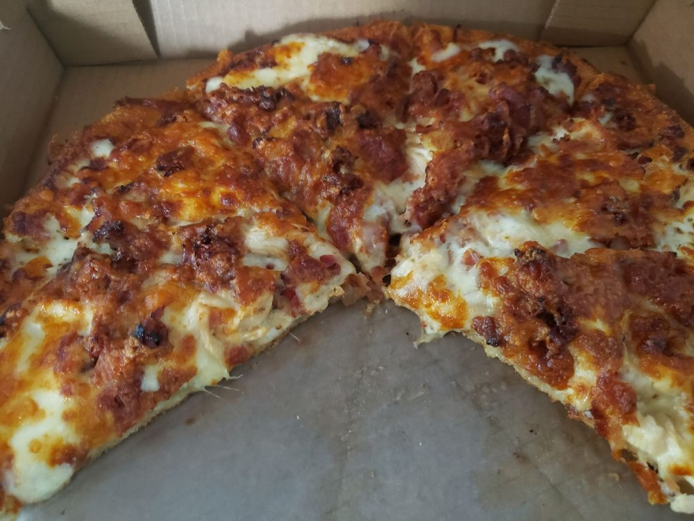 Food from College Pizza