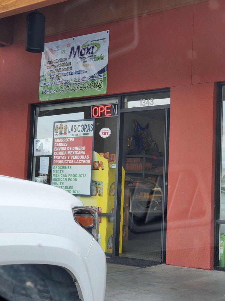 Las Coras Mexican Food Market: 1343 Rocking W Dr, Bishop, CA