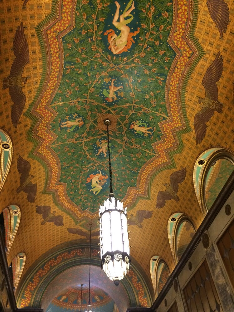 Fisher Building Ceiling Yelp