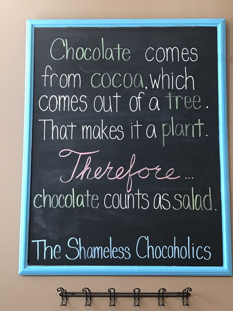 The Shameless Chocoholic: 101 S Cody Rd, Le Claire, IA