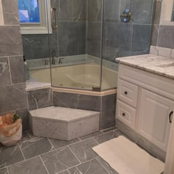 Photo Of M Teixeira Soapstone   Sterling, VA, United States. Fantasia Soapstone  Bathroom