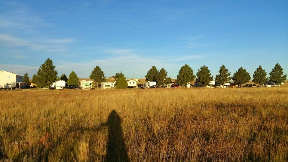 Prairie View Campground: 3925 US Hwy 18-20, Lusk, WY
