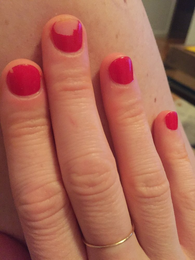 Gel mani chipped less than 48 hours yelp - Diva nails and beauty ...