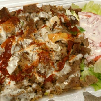 Photo Of Adham S Halal Food Manhattan Ny United States Lamb Over Y