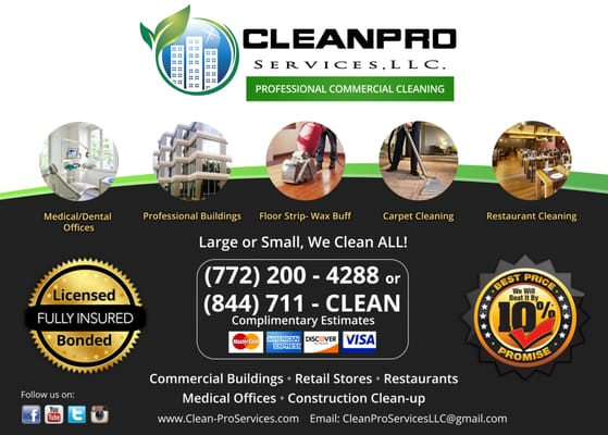 Cleanpro Services - Home Cleaning - Port Saint Lucie, FL - Phone