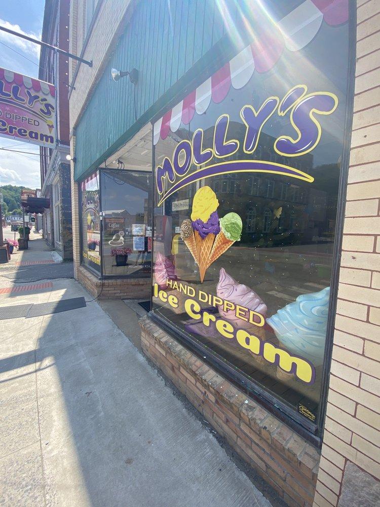 Molly's Ice Cream: 1 S Main St, Philippi, WV