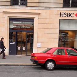 HSBC - Bank & Building Societies - 1 Rue Raynouard, Auteuil