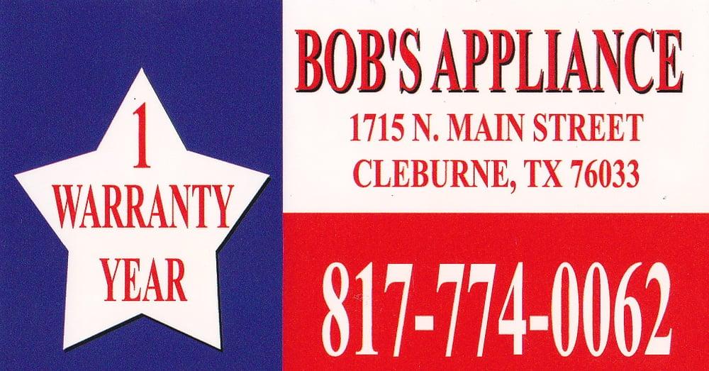Bob's Appliance: Alvarado, TX