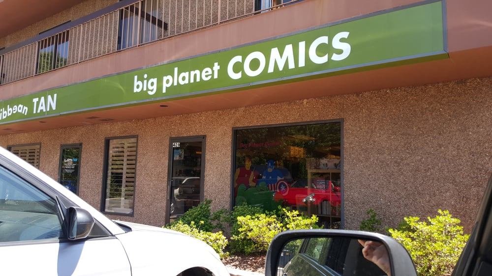 Big Planet Comics: 426 Maple Ave E, Vienna, VA