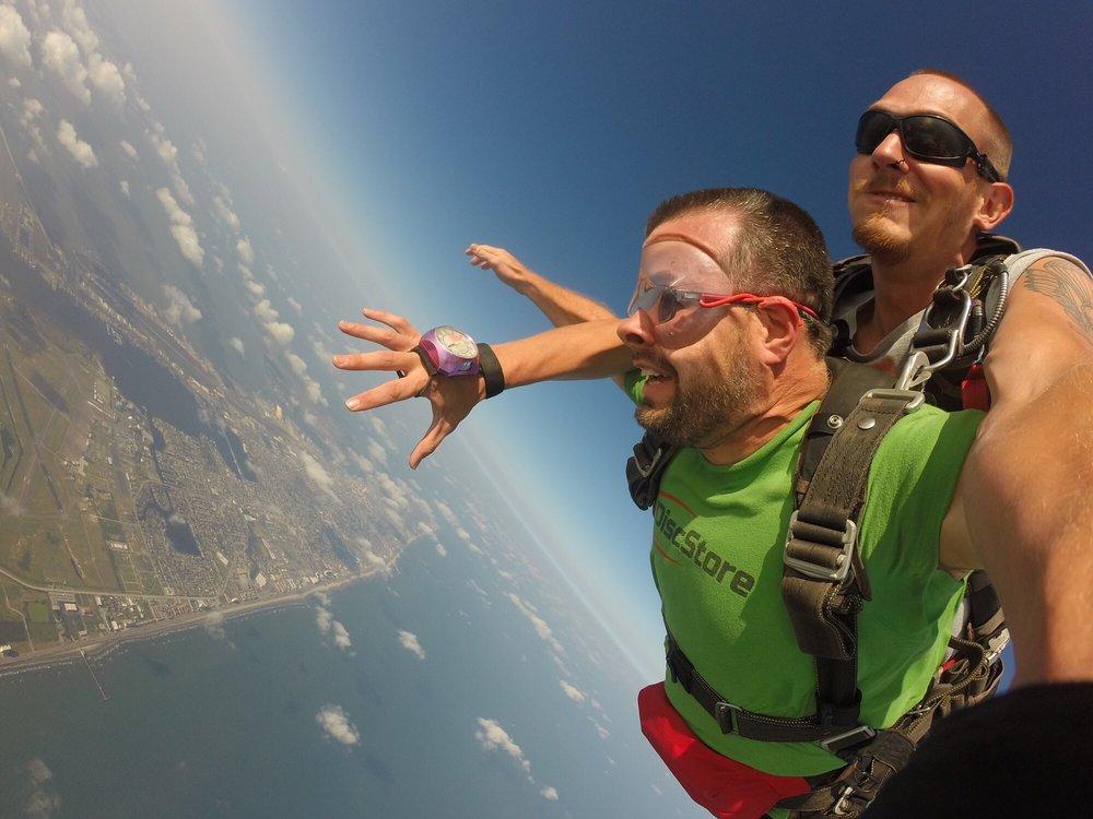 Sky Dive Galveston: 9020 Stewart Rd, Galveston, TX