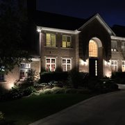 artistic outdoor lighting. downers grove home photo of artistic outdoor lighting lombard il united states st charles l