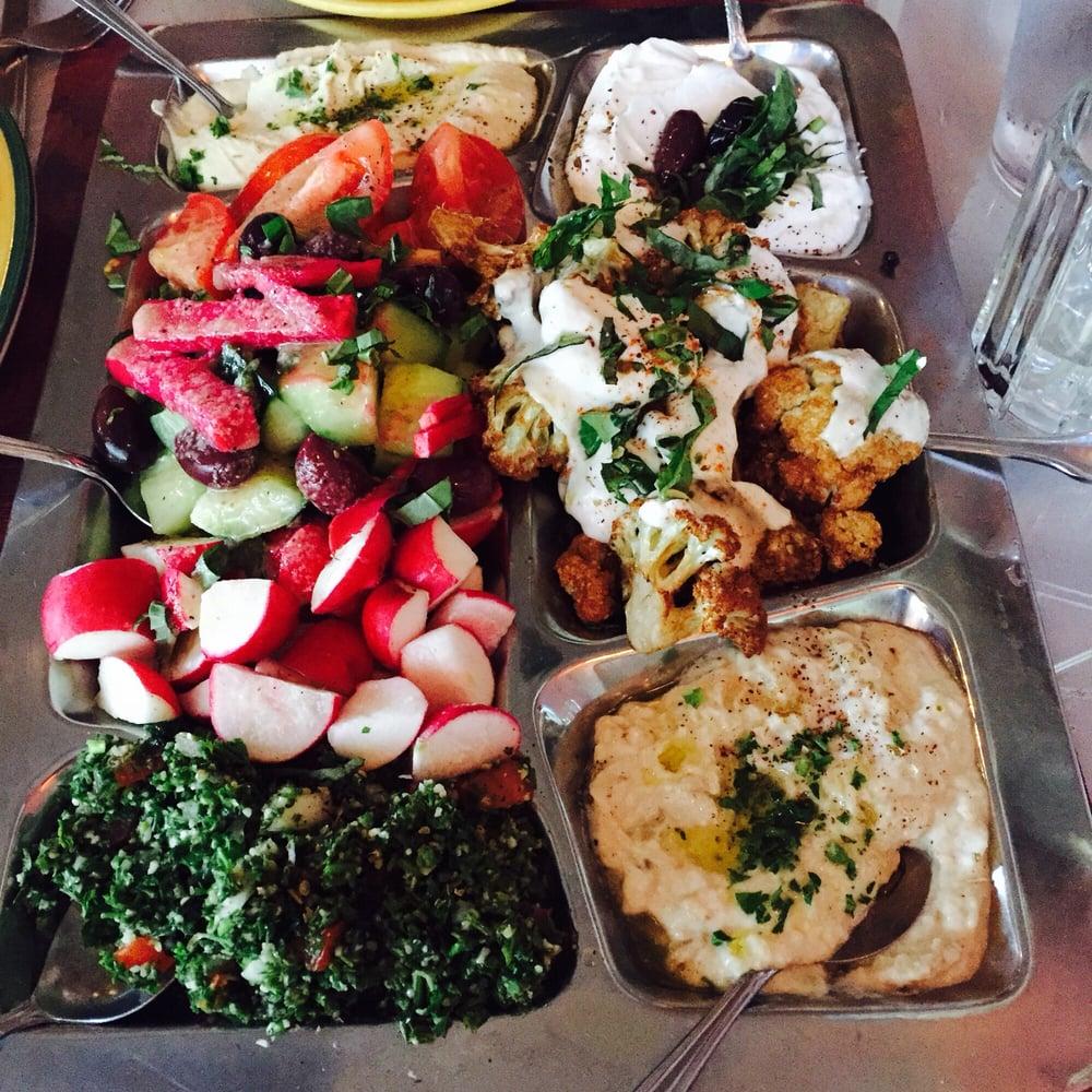 Mediterranean Kitchen Bellevue Wa: Mezza Tray