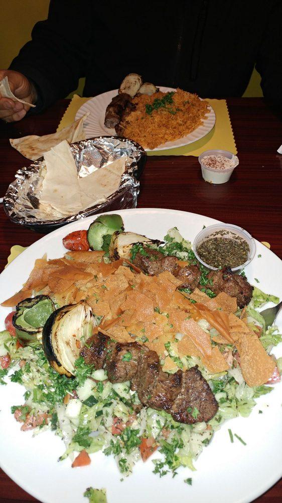 Food from Habibi Mediterranean Cuisine