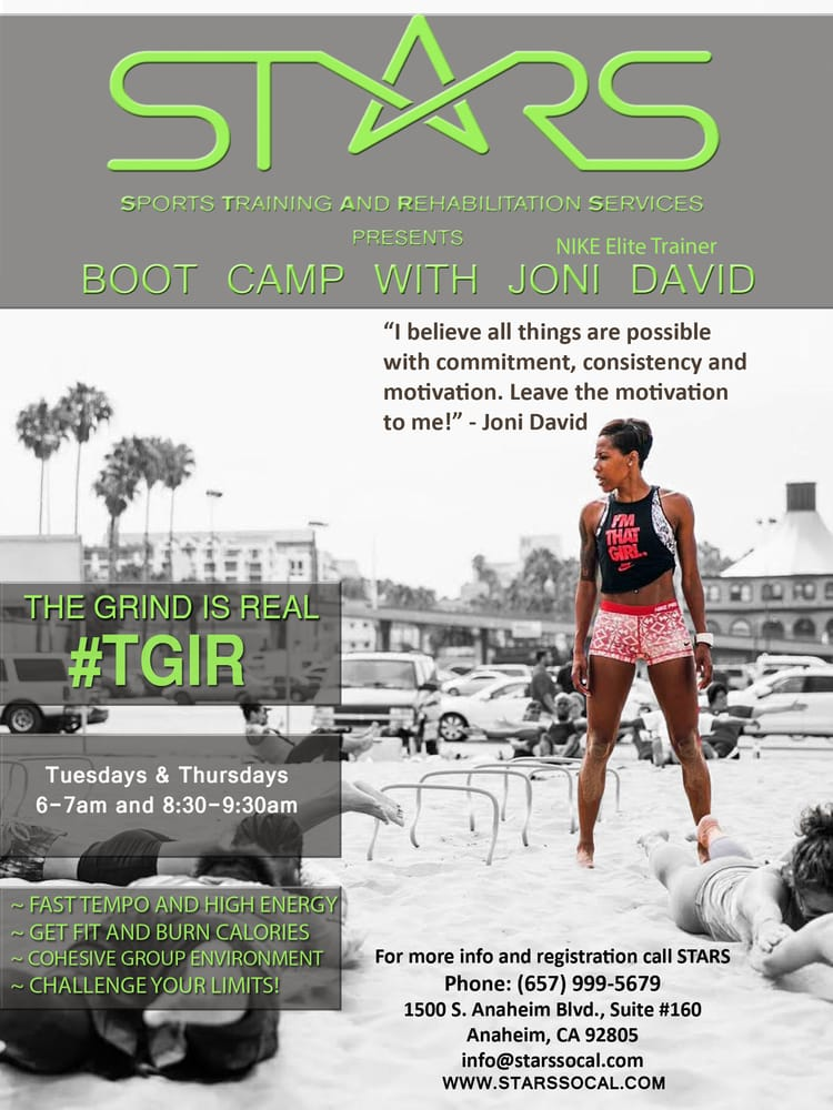 Joni david awesome boot camp flyer yelp photo of stars sports training and rehabilitation services anaheim ca united states publicscrutiny Image collections